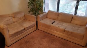 Sofa and Loveseat $425 smoke and pet free house for Sale in Tampa, FL