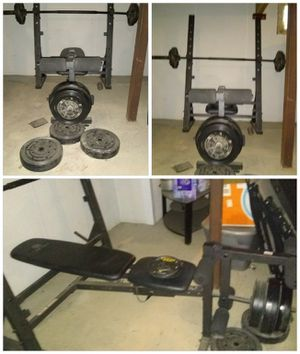 Golds Olmpic Weight Bench for Sale in Garrett, IN