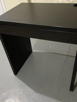 MICKE Desk, black-brown for Sale in Queens,  NY