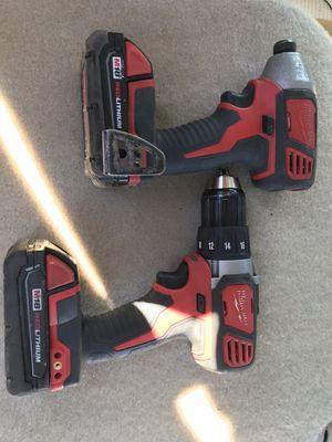 Milwaukee m18 drill set for Sale in Newport News, VA