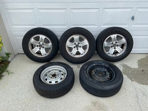 3 OEM 2003 - 2008 Honda Pilot Rims and 2 full size spares. for Sale in Union Park, FL
