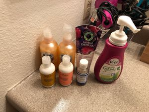 Conditioner, gel, hair remover, bath soap, and lotions for Sale in Vancouver, WA
