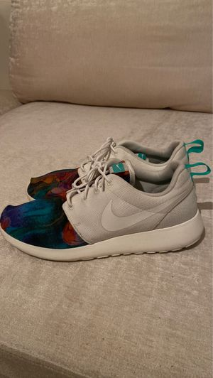 Nike Roche One Print Running Shoes men (size 9.5) for Sale in Plantation, FL