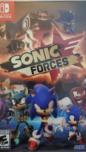 Nintendo Switch Sonic Forces for Sale in Santa Ana, CA