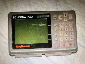 Raytheon Echonav 730 Loran C Navigator LCD Echo Sounder, Not Tested for Sale in Costa Mesa, CA