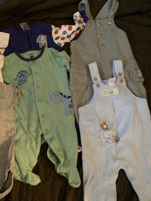 3-6 month boys clothes. for Sale in Buffalo, NY