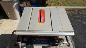 Bosch Table Saw for Sale in Greenwich Township, NJ