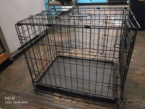 Puppy/small animal crate/cage with plastic bottom for Sale in Portland, OR
