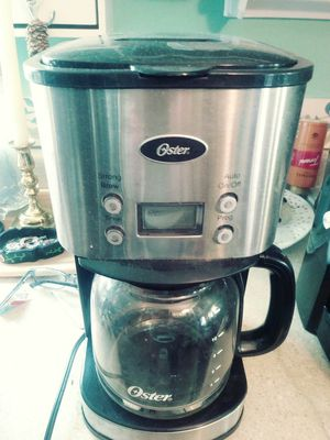 Oster 12-cup coffee maker for Sale in St Louis, MO