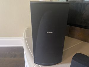 Bose lifestyle media center and surround sound system for Sale in San Diego, CA