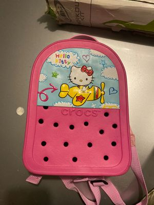 Hello Kitty Backpack By CROCS for Sale in Chula Vista, CA