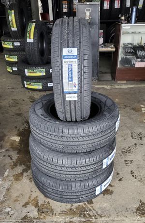 225/70/15 new tires for $360 with balance and installation we also finance {contact info removed} Dorian 7637 airline dr houston TX 77037 for Sale in Houston, TX