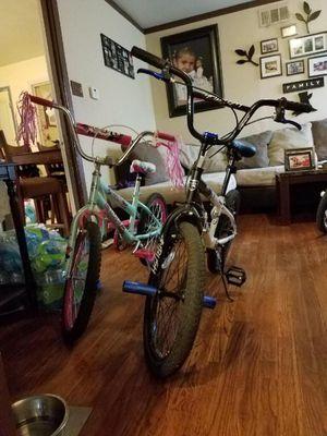 2 20 inch kids bike like new for Sale in Dallas, TX