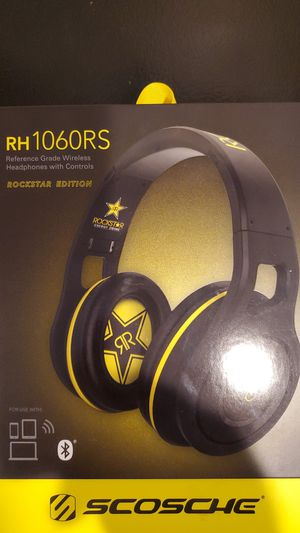 SCOSCHE Bluetooth Headphones RH1060RS (Retail 179.99 for Sale in Federal Way, WA