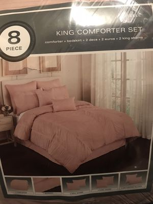 Brand new king size comforter set for Sale in West Valley City, UT
