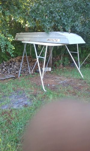 Aluminum / Fiberglass Hard top for big boat not sure what it was made for great condition for Sale in Kissimmee, FL