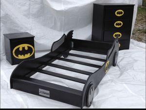 Custom Made Bat Mobile Bed for Sale in Edwardsville, IL