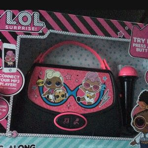LOL Surprise Sing Along BoomBox for Sale in Joint Base Lewis-McChord, WA