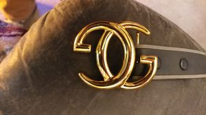 GUCCI VINTAGE 1980S DOUBLE G BELT BUCKLE for Sale in Everett, WA