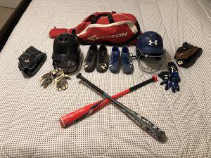 Baseball equipment for Sale in Ashland, VA