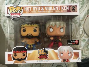 Street fighter 30 year exclusive Hot Ryu and violent Ken for Sale in San Diego, CA