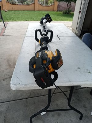 Dewalt brushless 60 volt trimir tool only for Sale in City of Industry, CA