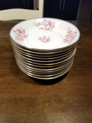 Fine China Occupied Japan Soup Bowls Rosemont Set of 12 for Sale in Morgan Hill, CA
