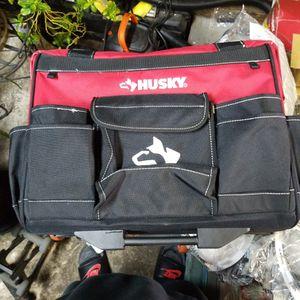 Husky 18 In Tool Bag Rollin Tote for Sale in Grand Prairie, TX