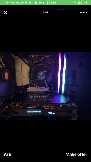 Powerful gaming pc rgb for Sale in Miami Beach, FL