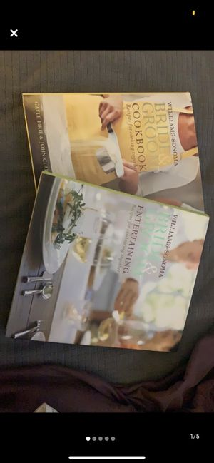 Bride and groom cook books for Sale in Carnegie, PA