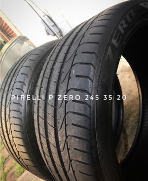Pirelli P Zero 245 35 20 x2 for Sale in Alexandria, VA