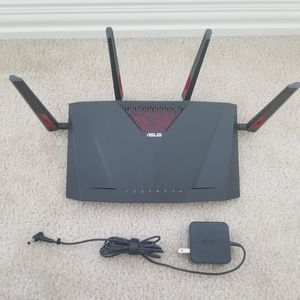 Asus router RT-AC88U 8 ports AC3100 for Sale in Cypress, TX