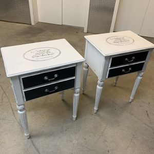 Custom French Style Antique End Tables for Sale in Arlington, VA