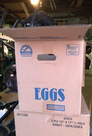 15 Dozen Eggs for sale for Sale in Anaheim, CA