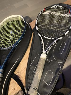 2 Tennis Rackets (Babolat and Wilson) for Sale in San Diego, CA