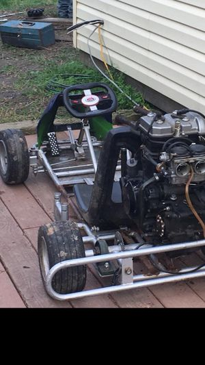 "He'll kart😘 Started project/ don't have time to finish! Ninja 250/ Honda race Frame extended 5""✌🏽 make reasonable offer! for Sale in Harpers Ferry, WV"