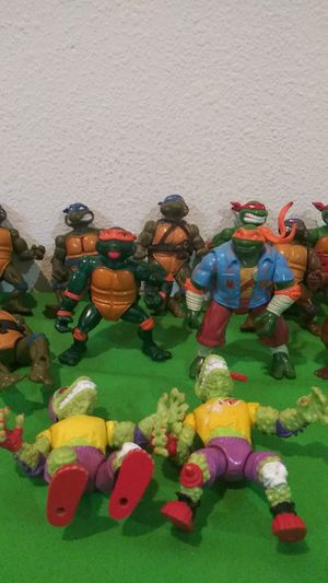 Vintage Action Figures - TMNT for Sale in Hemet, CA