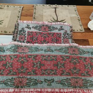 "Table Runner 60"" x 12"" & 6 Place Mats for Sale in Portland, OR"