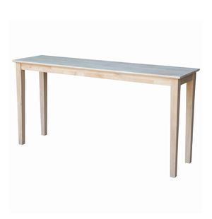 International Concepts Shaker Console Table, Unfinished, 4A-2149 for Sale in St. Louis, MO