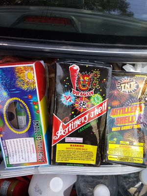 Brand new fire works.never used.they need to go. Morters for Sale in Amarillo, TX