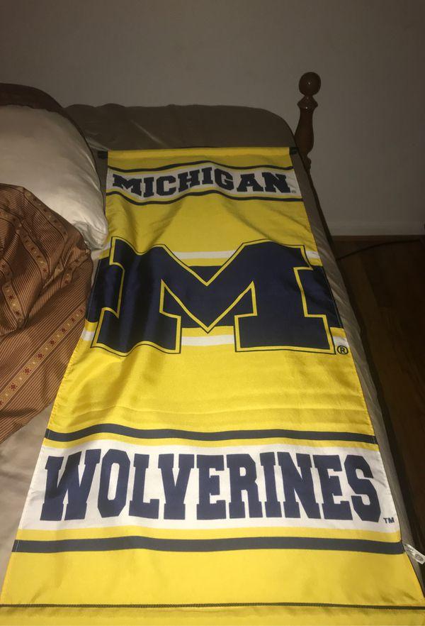 Michigan university banner