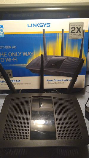 Linksys ea7500 ac1900 with mu-mimo for Sale in Phoenix, AZ