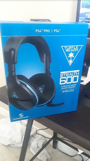 Turtle beach stealth 600 wireless headset for Sale in Austin, TX