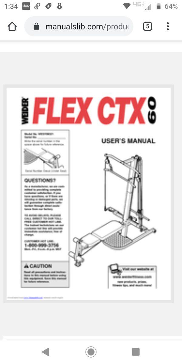 Weight machine/Home Gym