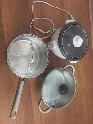Pot and rice cooker for Sale in Seattle, WA