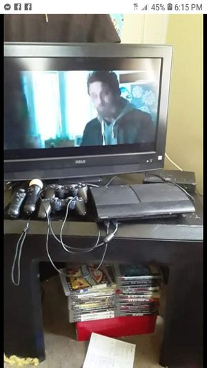 Ps3,Tv,games and controls for Sale in St. Louis, MO