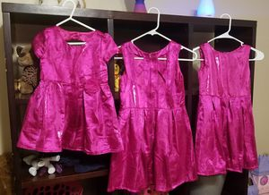 Children's Place, girls 'gem' colored holiday dresses for Sale in Tempe, AZ