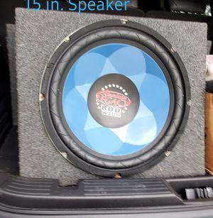 15 in. Speaker for Sale in Owensville, IN