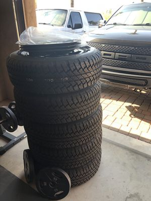 Tires/Wheels for 2017 Jeep Wrangler for Sale in Phoenix, AZ