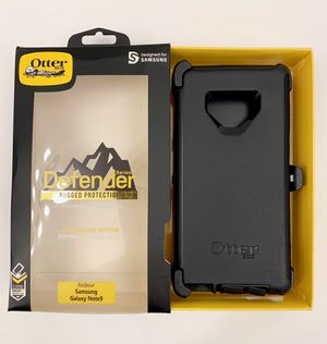 OB Samsung Galaxy Note 9 OtterBox Defender Case Cover. Belt Clip & Holster. Black Color. for Sale in Eastvale, CA
